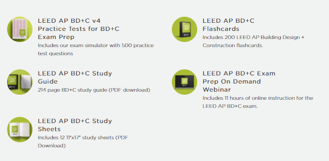 leed exam prep bdc bundle